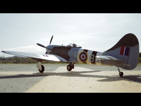 New Airfield 800mm Hawker Tempest Warbird Review