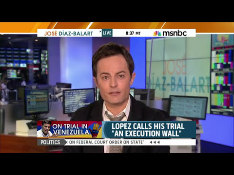 HRF's Thor Halvorssen discusses Leopoldo Lopez's case on MSNBC
