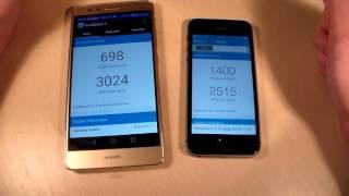 Huawei GR5 vs iPhone 5S (HD)