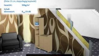 rigips akustikdecken viyoutube. Black Bedroom Furniture Sets. Home Design Ideas