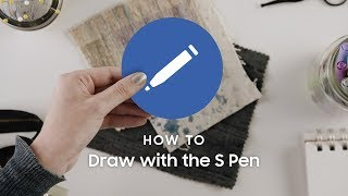 Samsung Galaxy Note10: How to draw with the S Pen