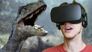 BLUE IS ALIVE!!! - Jurassic World: Blue | Oculus VR