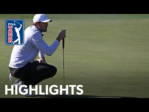 Scottie Scheffler shoots 6-under 66 | Round 3 | The American Express 2020