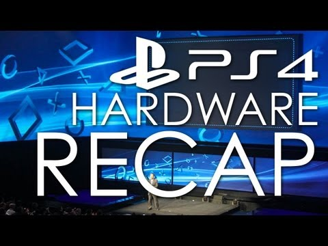 The PS4 Hardware in 5 Minutes - Hardware Specs, PS Vita integration, DualShock Controllers, & More!