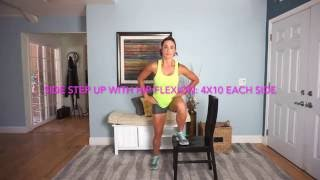 4-Square Chair Combo Workout