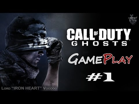Прохождение игры Call of Duty: Ghost - Серия 1 [Дивный новый мир] Геймплей CoD: Ghost