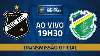 AO VIVO: ABC x Altos | Jogo de volta | Pré-Copa do Nordeste 2020