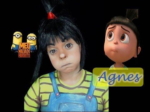 Maquiagem Da Agnes Do Desenho Meu Malvado Favorito Por Renata Monteiro video