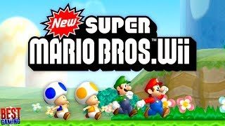 New Super Mario Bros. Wii Walkthrough - Full Game 100%
