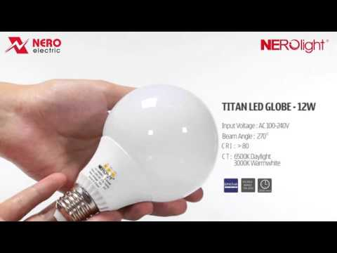 TITAN LED GLOBE - 12W