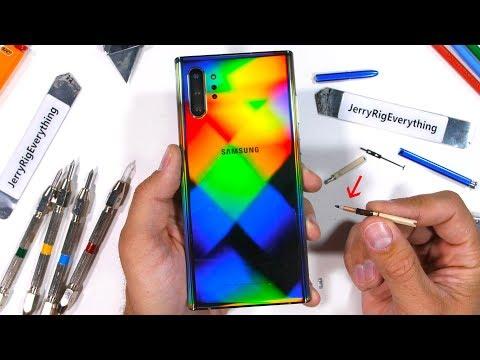 Samsung Galaxy Note 10 5G Durability Test в is the S-Pen Worth it?