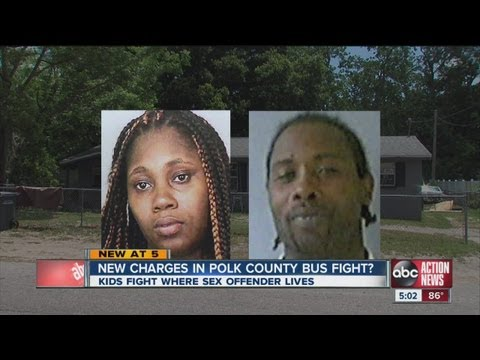 Bus Driver Encouraged Students To Fight At Home Of Sex Offender video