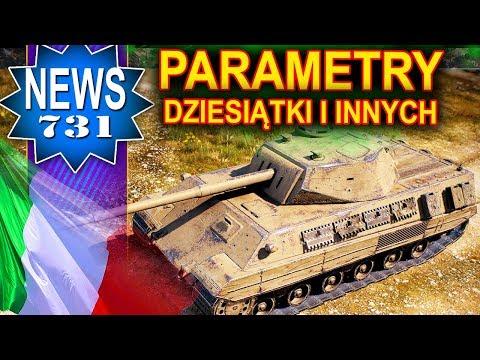 Parametry 10, 9 i 8 tier - Włochy - NEWS - World of Tanks