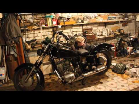 Мотоцикл своими руками ютуб 81