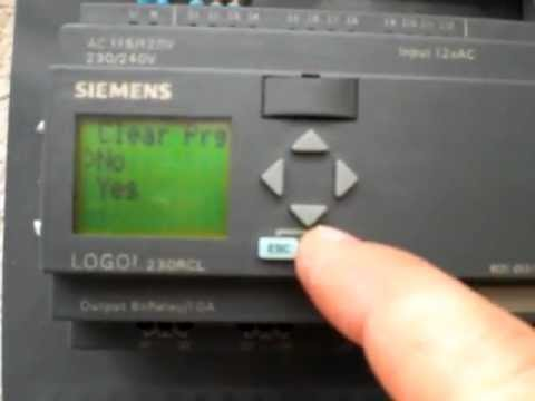 How to program siemens logo
