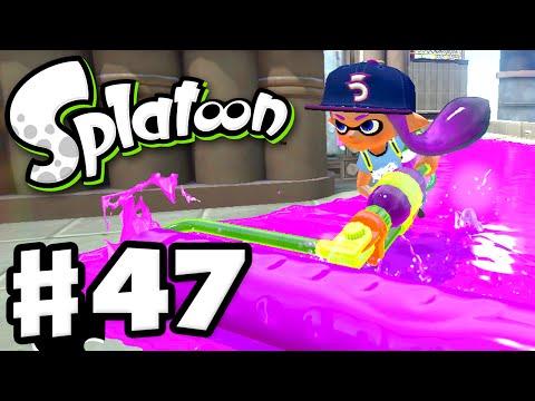 Splatoon - Gameplay Walkthrough Part 47 - Ranked Battles! (Nintendo Wii U)