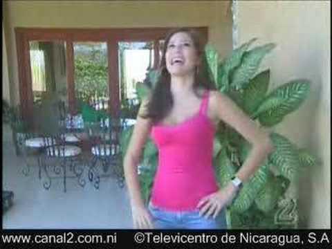 Miss Nicaragua al Descubierto. Xiomara Blandino