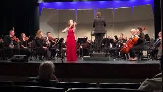 Allison Smith: Prokofiev - Violin Concerto No. 2 in G minor, Op. 63, I. Allegro Moderato