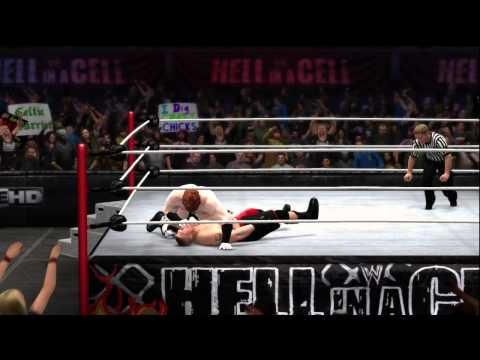 WWE 2K14 Brock Lesner Full Gameplay Review With Signature Finisher Move