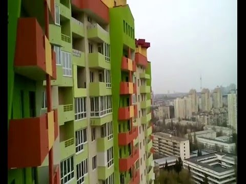 Киев. Новострой 23-й Этаж. НАУ. Парк(Отрадный)