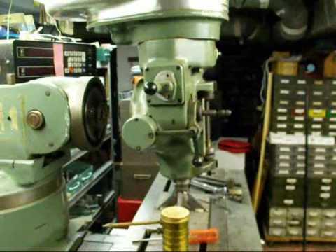 Bridgeport Milling Machine Removing The Head Youtube
