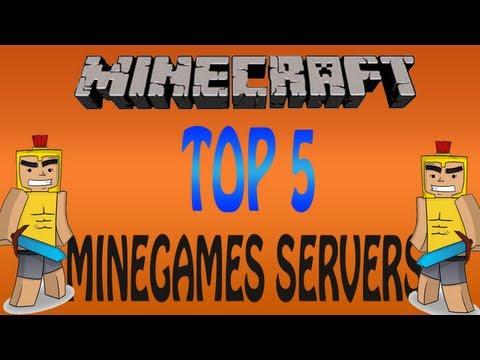 Minecraft Top 5 Minigame Servers - Best Minecraft servers 1.8