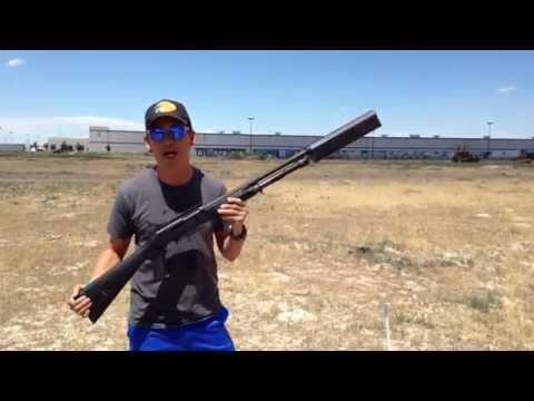 """SilencerCo - new """"Salvo 12"""" shotgun suppressor"""