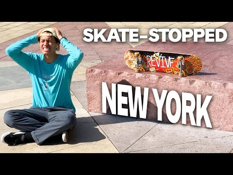 This is How NYC STOPS SKATEBOARDERS!