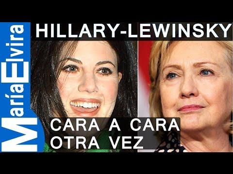 Hillary Clinton y Monica Lewinsky cara a cara otra vez