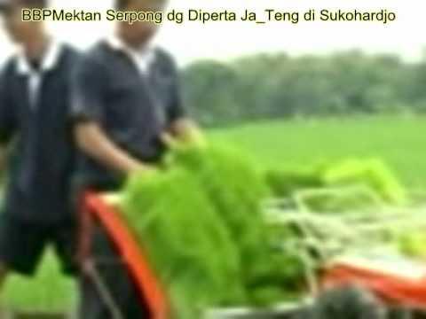 Peragaan Mesin Tanam Padi (transplanter) di Sukohardjo.avi