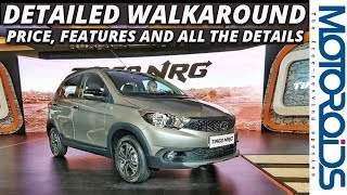 Tata Tiago NRG Walkaround and First Impressions : Budget Crossover Done Right   Motoroids