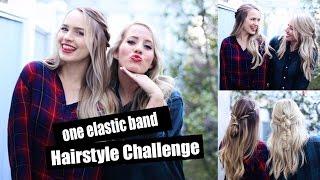 One Elastic Band Challenge with Kayley Melissa