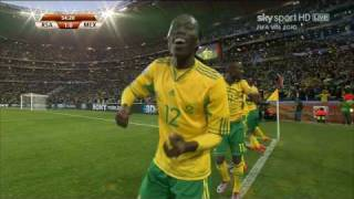 Tshabalala Goal VS Mexico In World Cup 2010 **HD**
