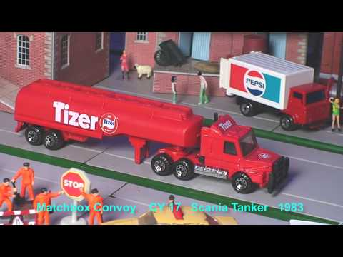 TOY TRUCK Collection TANKERS Compilation