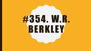 #354 W.R. Berkley|10 Facts|Fortune 500|Top companies in United States