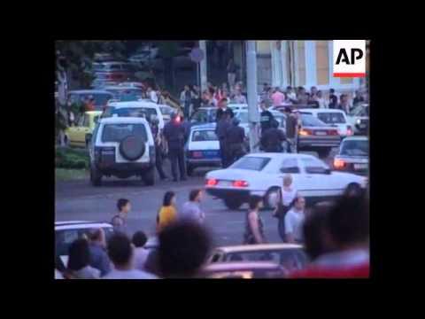SERBIA: BELGRADE: NEWS ORGANISATIONS CLOSURES: PROTESTS