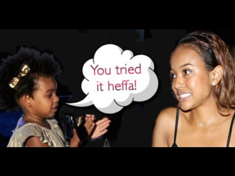 @Karrueche gets drug by the beyhive AND the navy for clowning blue ivy's natural hair on 106 & park