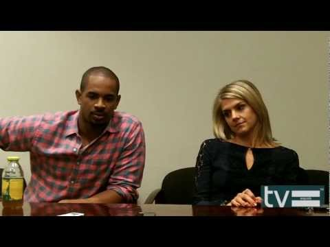 Happy Endings Season 3: Damon Wayans Jr & Eliza Coupe