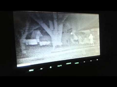 FLIR Thermal Night Vision Camera on Jeep Wrangler