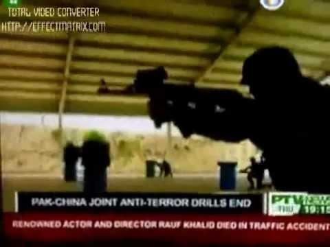 PAK-CHINA JOINT ANTI-TERROR DRILLS 2011-2012 (YOUYI 4)