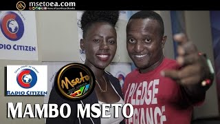 Akothee Introducing Sweet Love Ft Diamond Platinumz  Live On Mambo Mseto