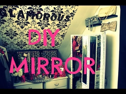 DIY THREE WAY ANGLED MIRROR