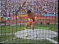 Art Burns 65m Discus Throw LA Olympics 1984