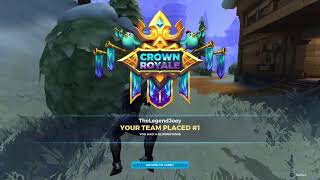 Realm Royale - On A 22 Win Streak. Lets Keep It Going.