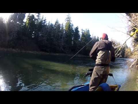 Steelhead Fly Fishing   Olympic Peninsula, Washington