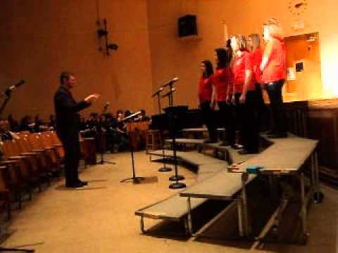 Athol High School,- Chorus 2014.  (Athol,MA) -Music in our Schools Concert 2014