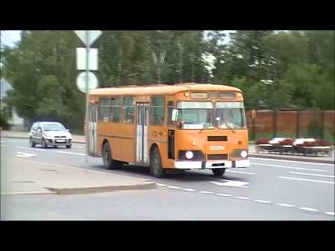 ЛиАЗ 677 г. Тобольск (Tobolsk, the Bus Liaz 677). Клип.