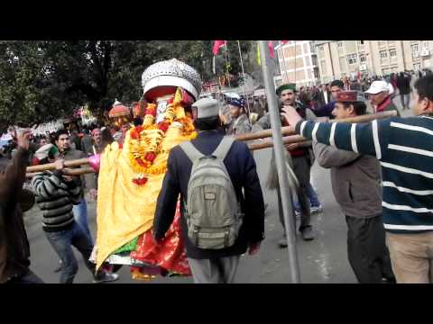 Divine Dance  Pahari Nati  In Mandi Shivrati 2012 : Himachal Tourism video
