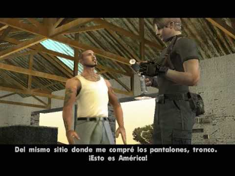 GTA San Andreas Leon Mod Pt 1 PC {No Ps2}