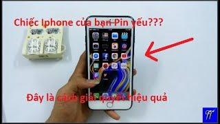 Tiết kiệm Pin trên Iphone ở IOS 12 hiệu quả và nhanh chóng!